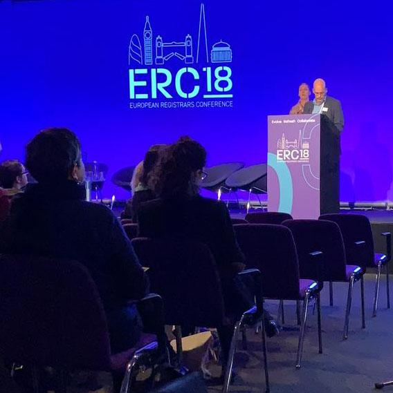 European Registrars Conference 2018 Volker Thiel